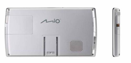 Mio Moov V735 TV zezadu a bok