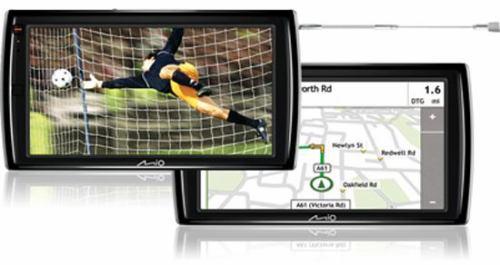 Mio Moov V735 TV navigace