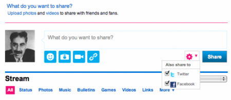 MySpace FB