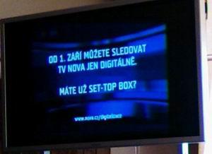 Nova spot Domažlice 2.8.2007