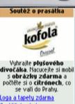 Reklama na mobilním portálu O2 Active - stránka firmy