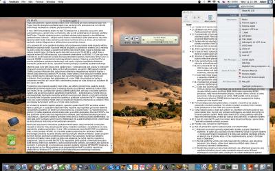 OS X dnes