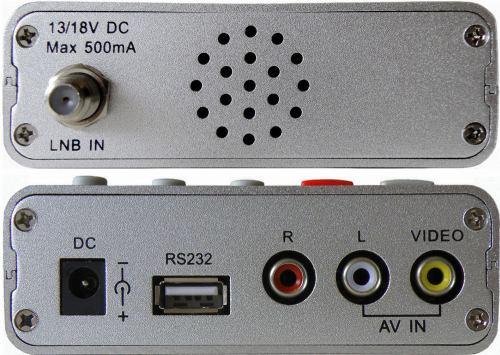 OpenBox SF-30 horni a dolni panel