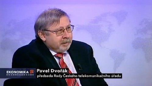 Pavel Dvořák - Ekonomika ČT 24