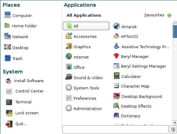 linux-mint-menu