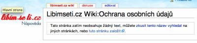 Libimseti.cz ochrana osobních údajů