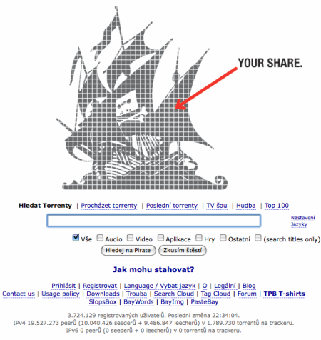 The Pirate Bay 6/2009