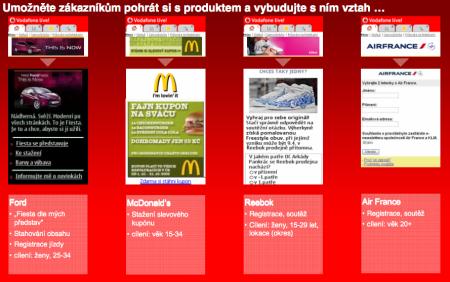 Kampaně realizované Vodafonem