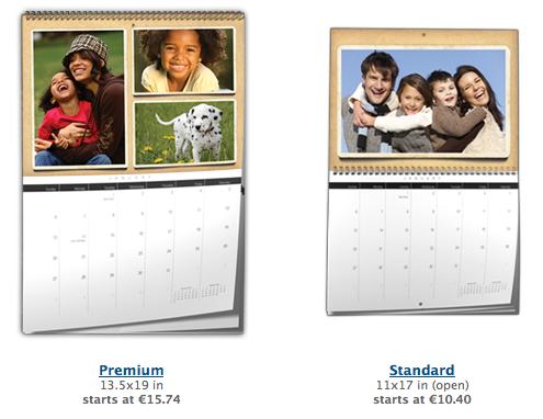 Kalendáře na Lulu.com