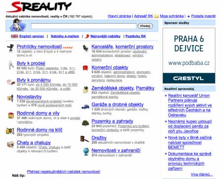 Sreality 22/2 2010
