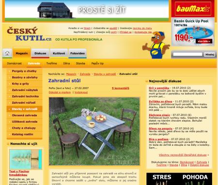 Český kutil - jak se dělá stůl