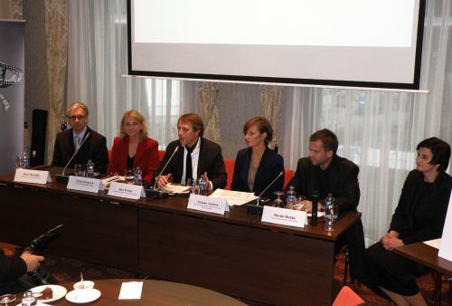 Film Europe - tisková konference 18. listopadu 2011
