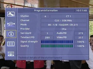 Hauppauge DEC 2000-T programove detaily