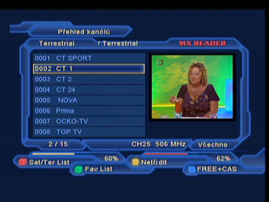 Optimum 800 programy