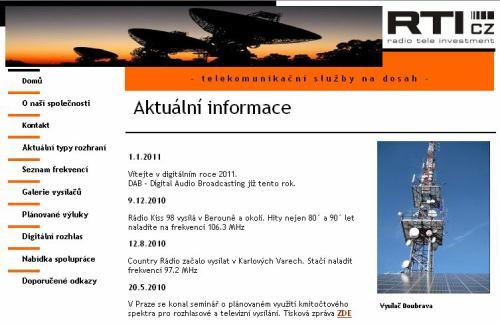RTI cz - web