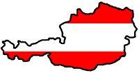 Rakousko mapka 200
