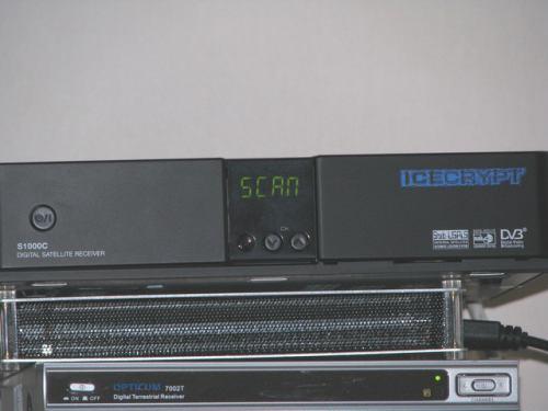 IceCrypt S1000C přední panel