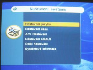 IceCrypt S1000C nastavení jazyka