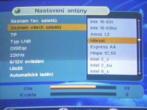 IceCrypt S1000C menu nastavení