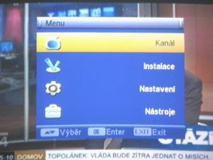 FTE MAX T115 menu