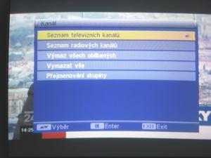 FTE MAX T115 menu 2