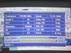 FTE MAX T115 menu 5