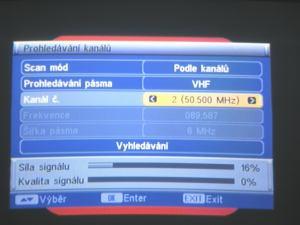 FTE MAX T115 kanál