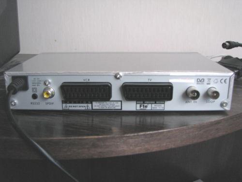 FTE MAX T115 zadní panel