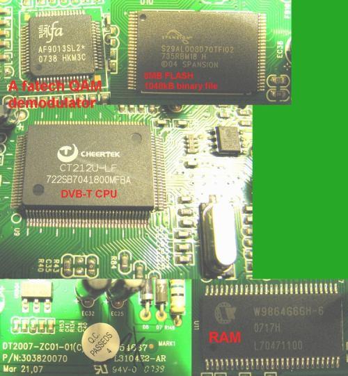 Opticum 7002T - chipset