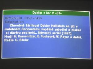 Opticum 7002T - menu 16