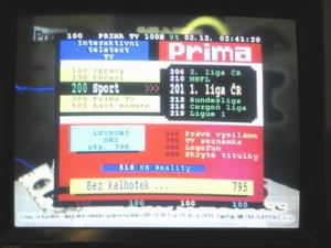 Opticum 7002T - menu 11
