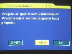 Opticum 7002T - menu 3