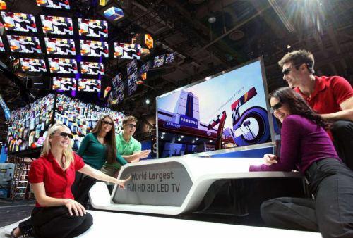 Samsung 3D LCD, 191 cm (75 palců)