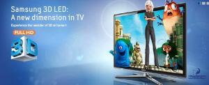 Samsung LED8000 3D obrázek