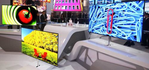 Samsung OLED - CES 2102