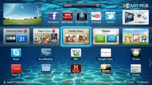Samsung Smart Hub se Smarter Life