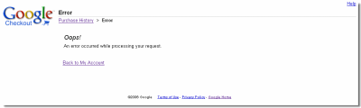 google-checkout-error