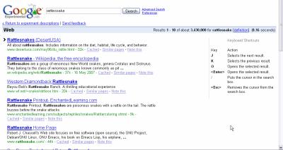 Google zkratky