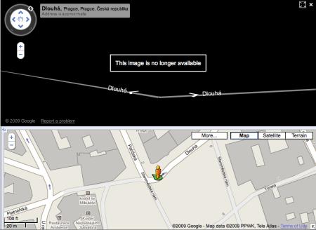 Google Street View tajné