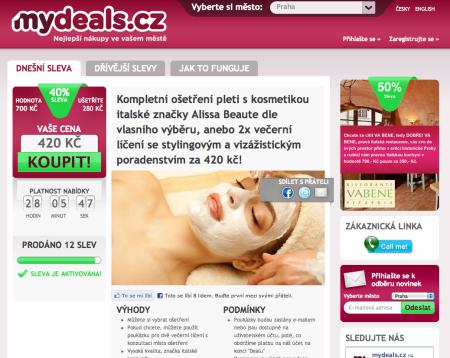 MyDeals.cz mají německou matku
