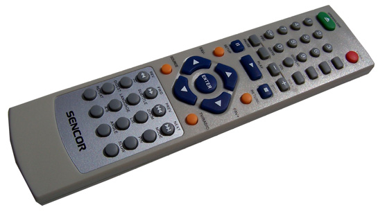Sencor SDV-8801T ovladac
