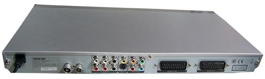 Sencor SDV-8801T zezadu