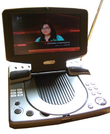 Sencor SPV 7702 vysílání