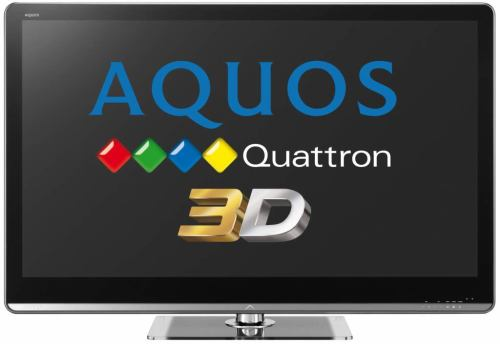 Sharp Aquos le820e sharp quatron 3d
