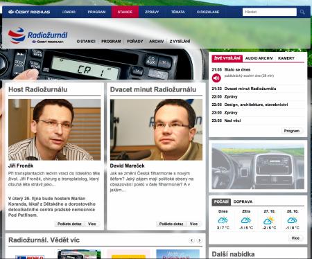 Web Radiožurnálu