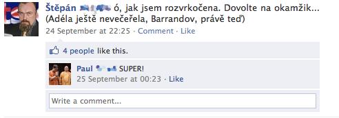 Lidi komentují televizní vysílání online :)