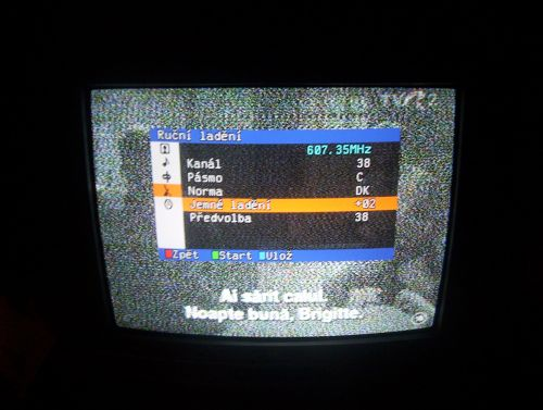 Foto rumunské televize TVR2 - 38k