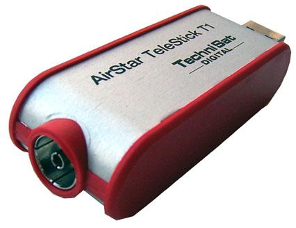 TechniSat AirStar TeleStick T1 zezadu