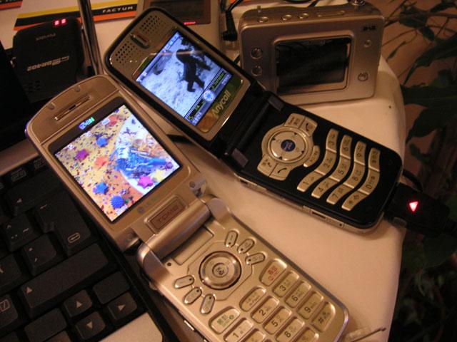 Telefony vybavene prijmem DMB