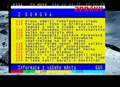 Smart MX 56 teletext